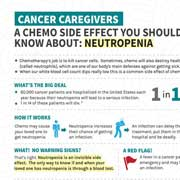 Cancer Caregivers: Neutropenia Is a Chemo Side Effect You Should Know About Fact Sheet